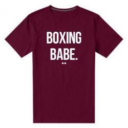 Мужская стрейчевая футболка Boxing babe