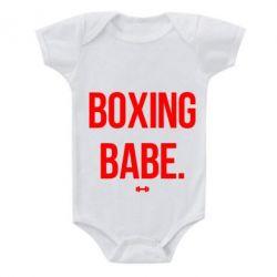 Детский бодик Boxing babe