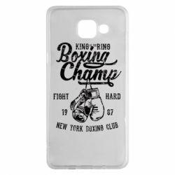 Чохол для Samsung A5 2016 Boxing Champ