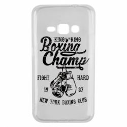 Чохол для Samsung J1 2016 Boxing Champ