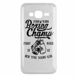 Чохол для Samsung J3 2016 Boxing Champ