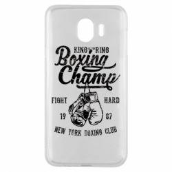 Чохол для Samsung J4 Boxing Champ