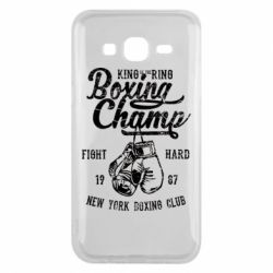 Чохол для Samsung J5 2015 Boxing Champ