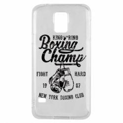 Чохол для Samsung S5 Boxing Champ
