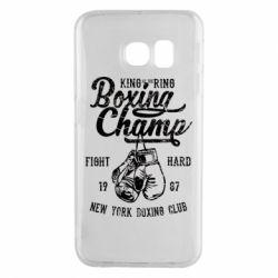 Чохол для Samsung S6 EDGE Boxing Champ