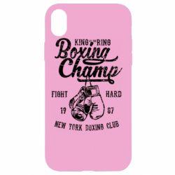 Чохол для iPhone XR Boxing Champ