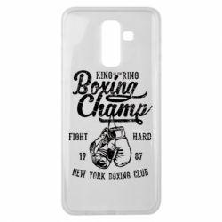 Чохол для Samsung J8 2018 Boxing Champ