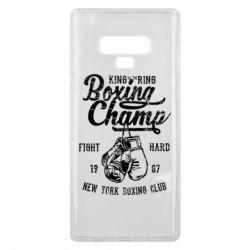 Чохол для Samsung Note 9 Boxing Champ