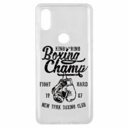 Чохол для Xiaomi Mi Mix 3 Boxing Champ