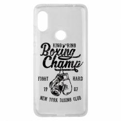 Чохол для Xiaomi Redmi Note Pro 6 Boxing Champ