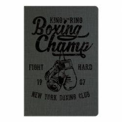 Блокнот А5 Boxing Champ