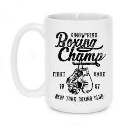 Кружка 420ml Boxing Champ