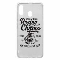 Чохол для Samsung A20 Boxing Champ