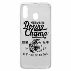 Чохол для Samsung A30 Boxing Champ