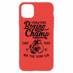 Чохол для iPhone 11 Boxing Champ