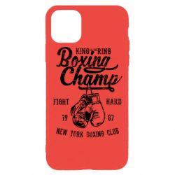Чохол для iPhone 11 Pro Boxing Champ