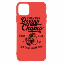 Чохол для iPhone 11 Pro Max Boxing Champ