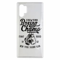 Чохол для Samsung Note 10 Plus Boxing Champ