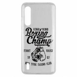 Чохол для Xiaomi Mi9 Lite Boxing Champ
