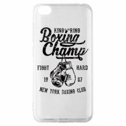 Чохол для Xiaomi Redmi Go Boxing Champ
