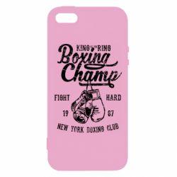 Чохол для iphone 5/5S/SE Boxing Champ