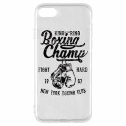 Чохол для iPhone 7 Boxing Champ