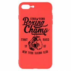 Чохол для iPhone 8 Plus Boxing Champ