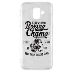 Чохол для Samsung A6 2018 Boxing Champ