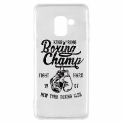 Чохол для Samsung A8 2018 Boxing Champ