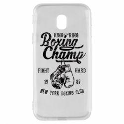 Чохол для Samsung J3 2017 Boxing Champ