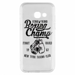 Чохол для Samsung A3 2017 Boxing Champ