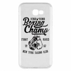 Чохол для Samsung A7 2017 Boxing Champ