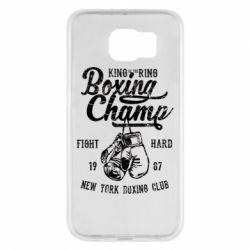 Чохол для Samsung S6 Boxing Champ