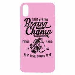 Чохол для iPhone X/Xs Boxing Champ