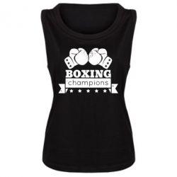 Женская майка Boxing Champions - FatLine