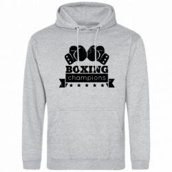 Мужская толстовка Boxing Champions - FatLine