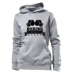 Женская толстовка Boxing Champions - FatLine