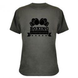 Камуфляжная футболка Boxing Champions - FatLine