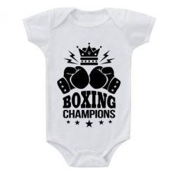 Купить Детский бодик Boxing champions, FatLine