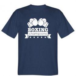 Мужская футболка Boxing Champions - FatLine