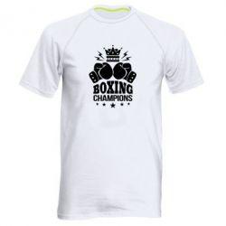 Купить Мужская спортивная футболка Boxing champions, FatLine