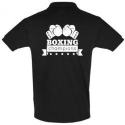 Футболка Поло Boxing Champions - FatLine