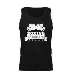 Мужская майка Boxing Champions - FatLine