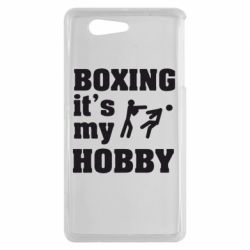 Чехол для Sony Xperia Z3 mini Boxing is my hobby - FatLine