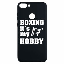 Чехол для Huawei P Smart Boxing is my hobby - FatLine