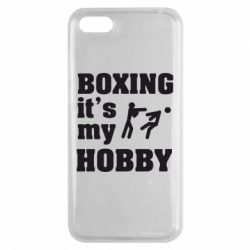 Чехол для Huawei Y5 2018 Boxing is my hobby - FatLine
