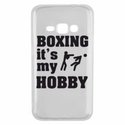 Чехол для Samsung J1 2016 Boxing is my hobby - FatLine
