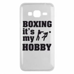Чехол для Samsung J3 2016 Boxing is my hobby - FatLine