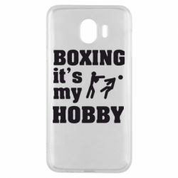 Чехол для Samsung J4 Boxing is my hobby - FatLine