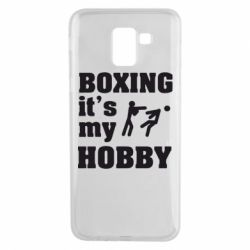 Чехол для Samsung J6 Boxing is my hobby - FatLine